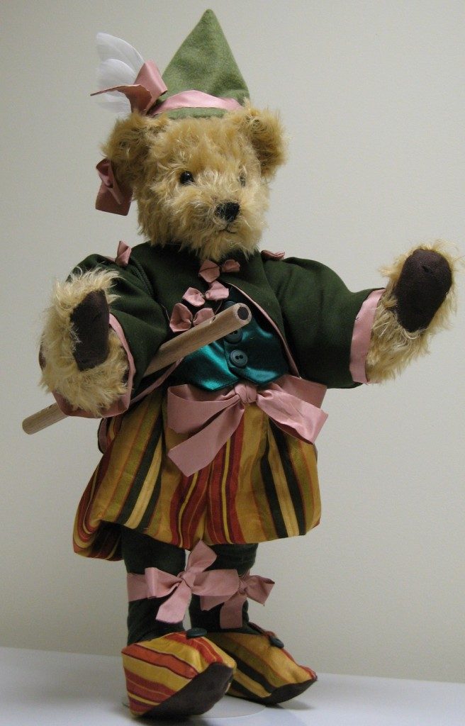 Early Musician Bear